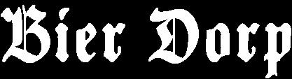 Bier Dorp letter